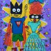 Super Toto et sa femme
