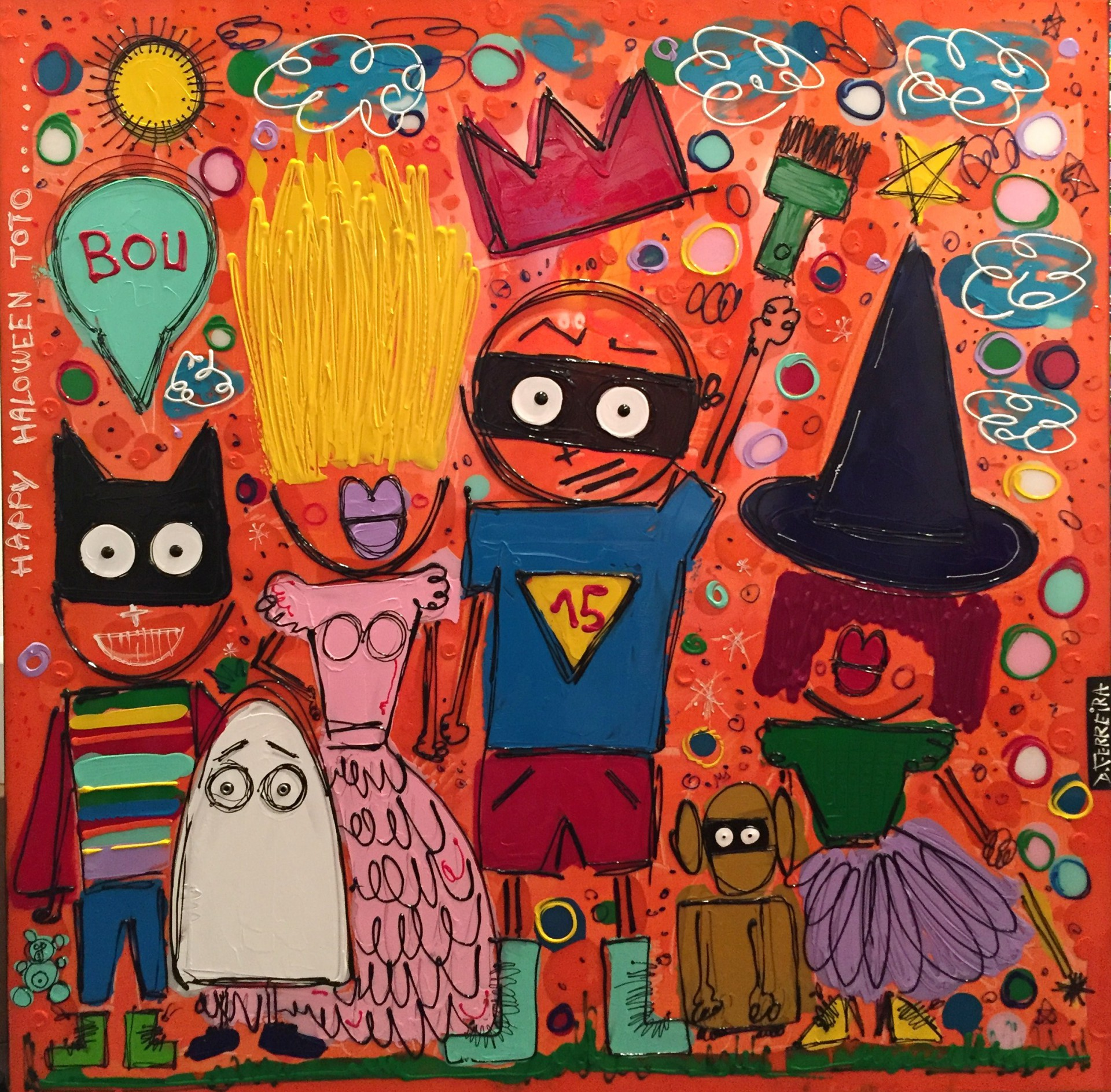 Happy halloween toto