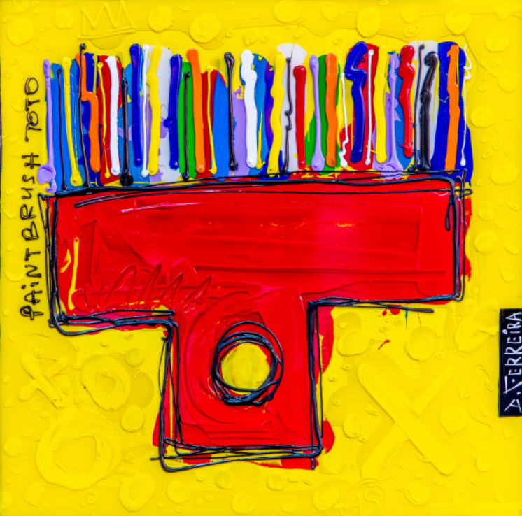 Paintbrush Toto 80/80